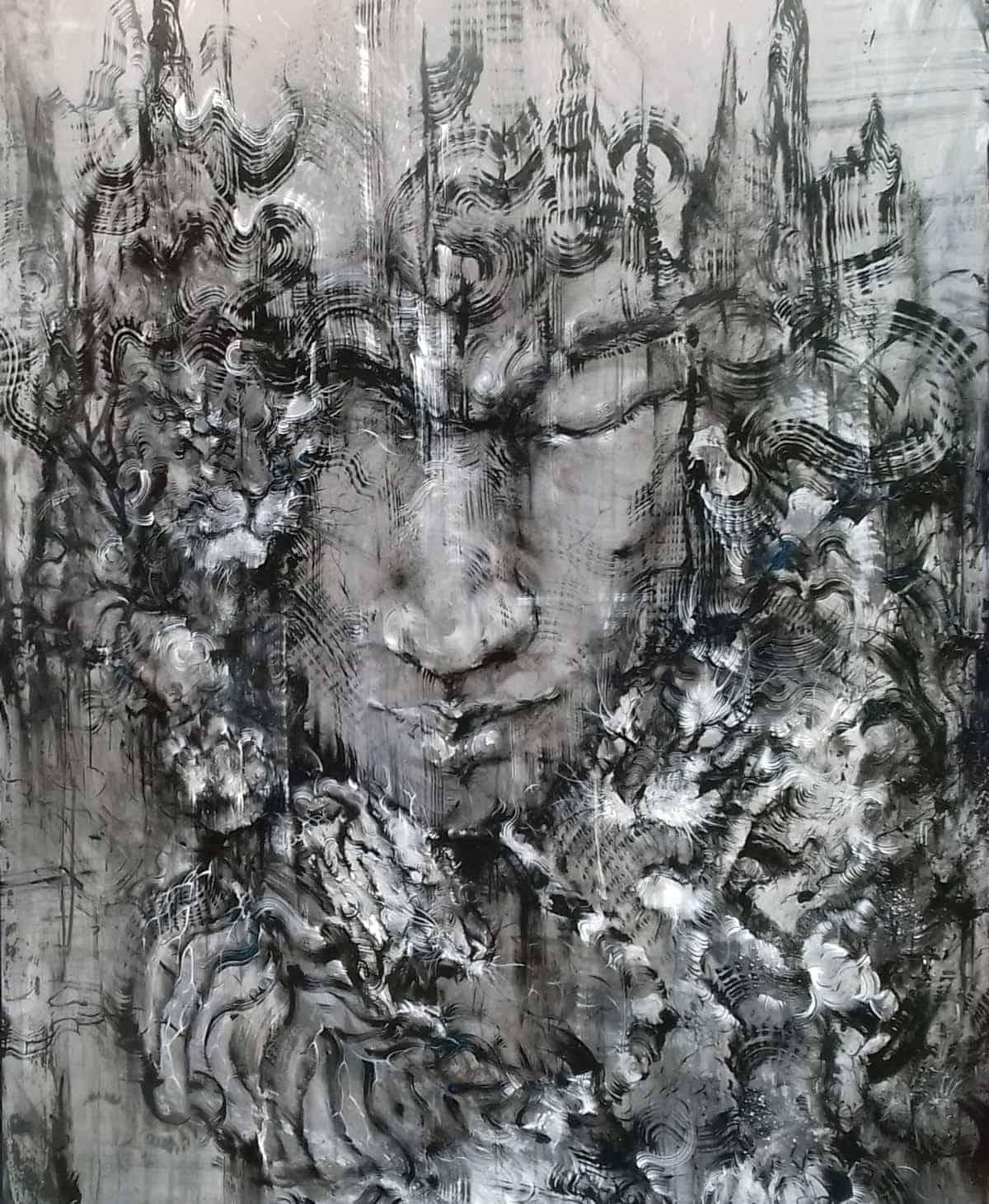 Hua Tunan Tiger Artwork